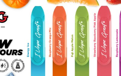 IVG BAR INTRODUCES 6 BRAND NEW FLAVOURS
